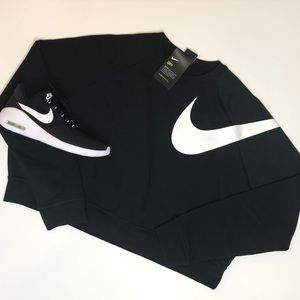 Nike Versa Crop Sweatshirt XL NWT